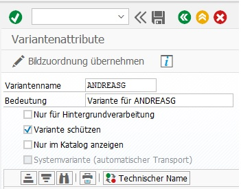 Der Variantenschutz in SAP ERP sorgt dafür, dass eine Berichtsvariante nur noch vom Ersteller selbst geändert werden kann.