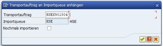 In der Transaktion SMTS_IMPORT kann man die Nummer des externen Transports angeben.