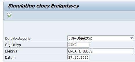 Man kann mithilfe der Transaktionen SWU0 oder SWUE einmal in seiner ABAP-Programmierungen einen Breakpoint setzen und prüfen, ob der Verbraucher-Funktionsbaustein oder die Klassenmethode ausgeführt wird und somit das Ereignis gestartet wird.