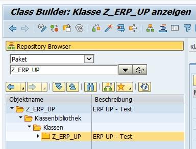 """Anschließend muss man die Transaktion aufrufen, die ein Löschen des Objektes erlaubt. Wenn man bspw. eine Klasse löschen möchte, so ruft man den Class Builder (SE24) auf. In diesem Beispiel möchten wir ein Paket mit allen darin enthaltenen Objekten löschen. Dafür ruft man die Transaktion SE80 (Object Navigator) auf. Hier wählt man im Repository Browser auf der linken Seite im Dropdown """"Paket"""" aus und gibt den Paketnamen an."""