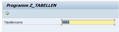 Mit dem ABAP-Programm kann man einfach eine Übersicht über alle SAP-Tabellen erhalten, ohne direkt eine Berechtigung für die Transaktion SE16 bzw. SE16N zu haben.