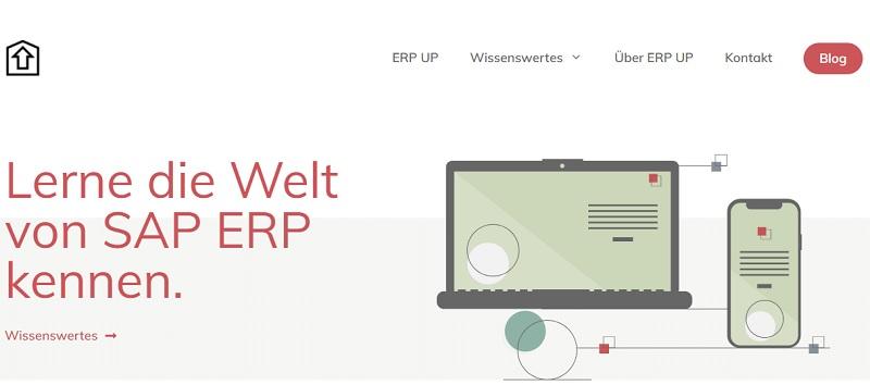 Einer der besten SAP Blogs ist derzeit erp-up.de. Hier erfährst Du wertvolle Tipps und Tricks rund um SAP ERP und SAP S/4HANA. Der Fokus dieses Blogs liegt in SAP FI, SAP MM, SAP Basis und ABAP-Programmierung. Neben der Erklärung von wichtigen Fachbegriffen werden Tipps und Tricks rund um das ERP-System näher erläutert.