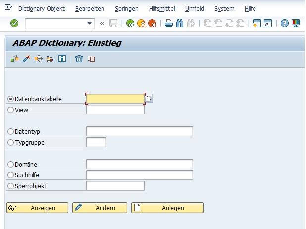 Das ABAP Dictionary ist eine Transaktion in SAP ERP bzw. SAP S/4HANA. Sie wird mit dem Transaktionscode SE11 aufgerufen. Das ABAP Dictionary dient der Deklaration von Metadaten, die Tabellen betreffen.